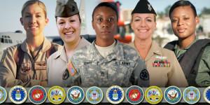 Women Veterans serving women veterans
