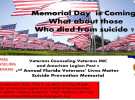 VCV and American Legion Post 5 Memorial for Suicide Survivors of Veterans