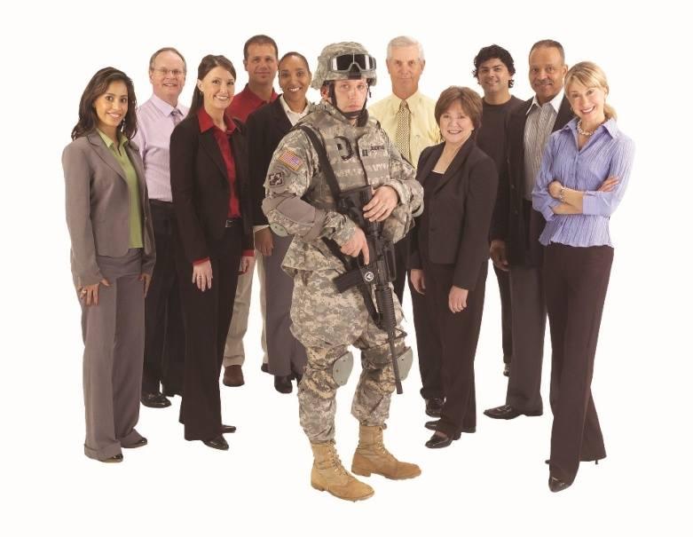military group photo