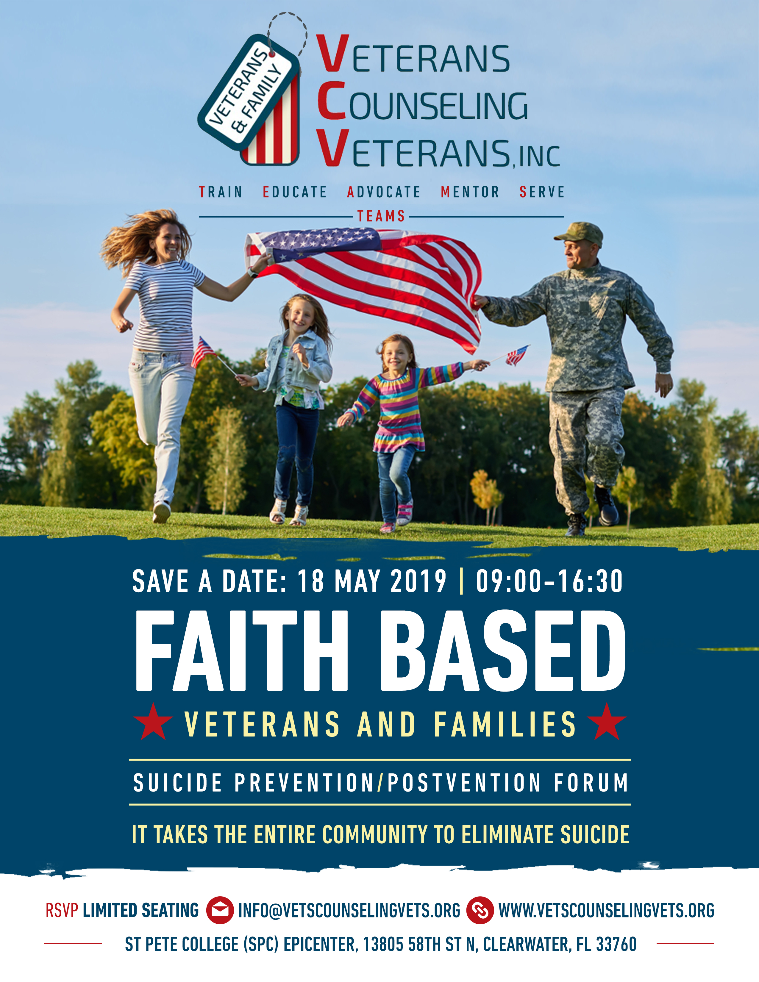 Faith Based Organizations, Mental Health and Veteran Organizations Forum on Suicide Prevention