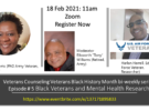 Black Veterans and Mental Health Research